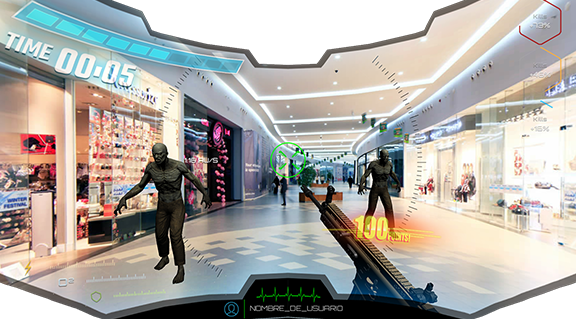 Virtual Reality First Person Shooter - GUI