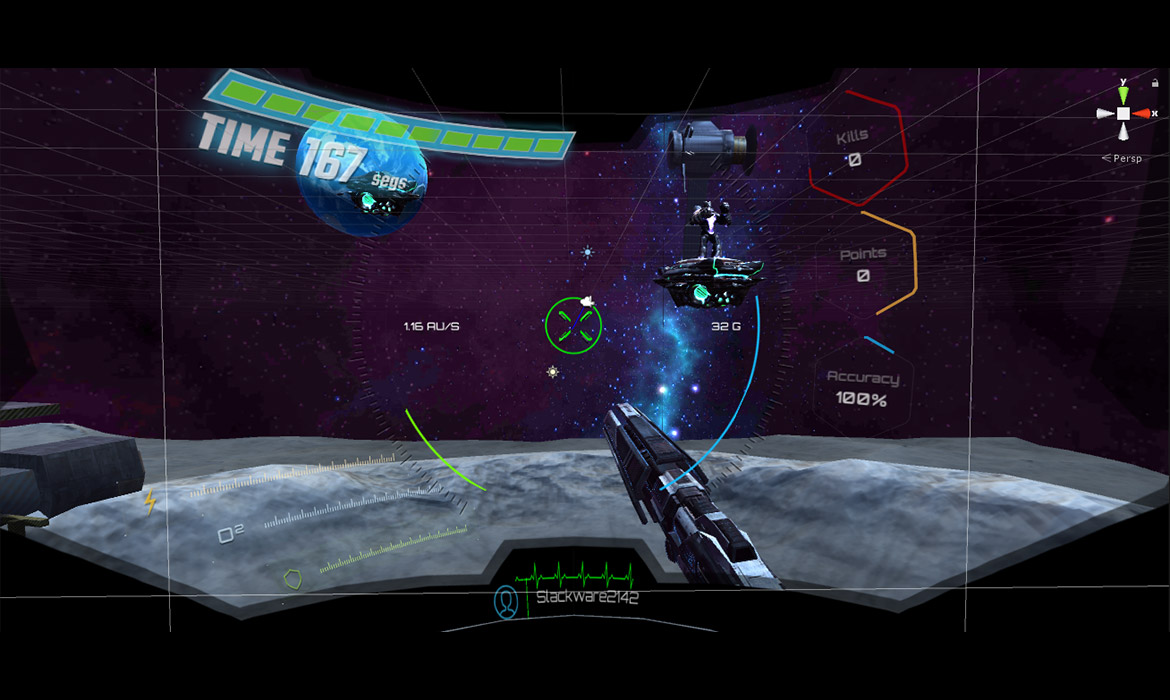 Virtual Reality First Person Shooter