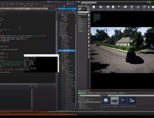 AirSim – Simulator Engine for drones, cars and other vehicles based on Unreal Engine